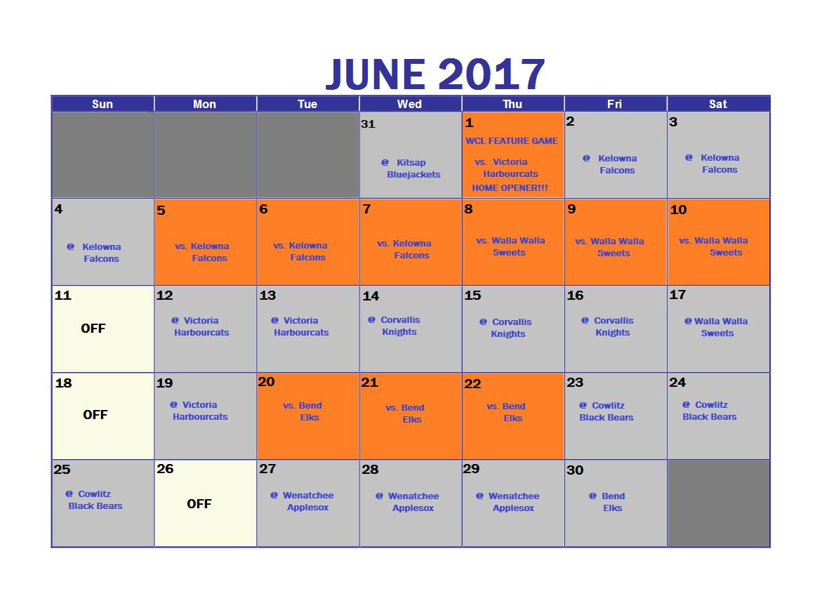 schedule-june